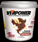 Pasta de Amendoim Shot Protein 1Kg - Vitapower