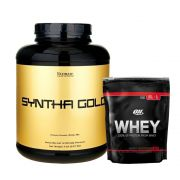 Syntha Gold 5lbs - Ultimate + On Whey 100% Protein 837g  - Optimum Nutrition