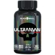 UltraMan Sports Multivitamínico 60 Caps. - Black Skull