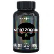 VIT D3 2000IU 100 Caps. - Black Skull