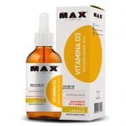 Vitamina D3 30ml - Max Titanium