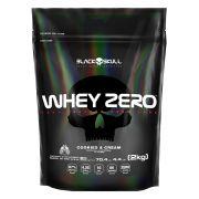 Whey Zero 2kg (Refil) - Black Skull