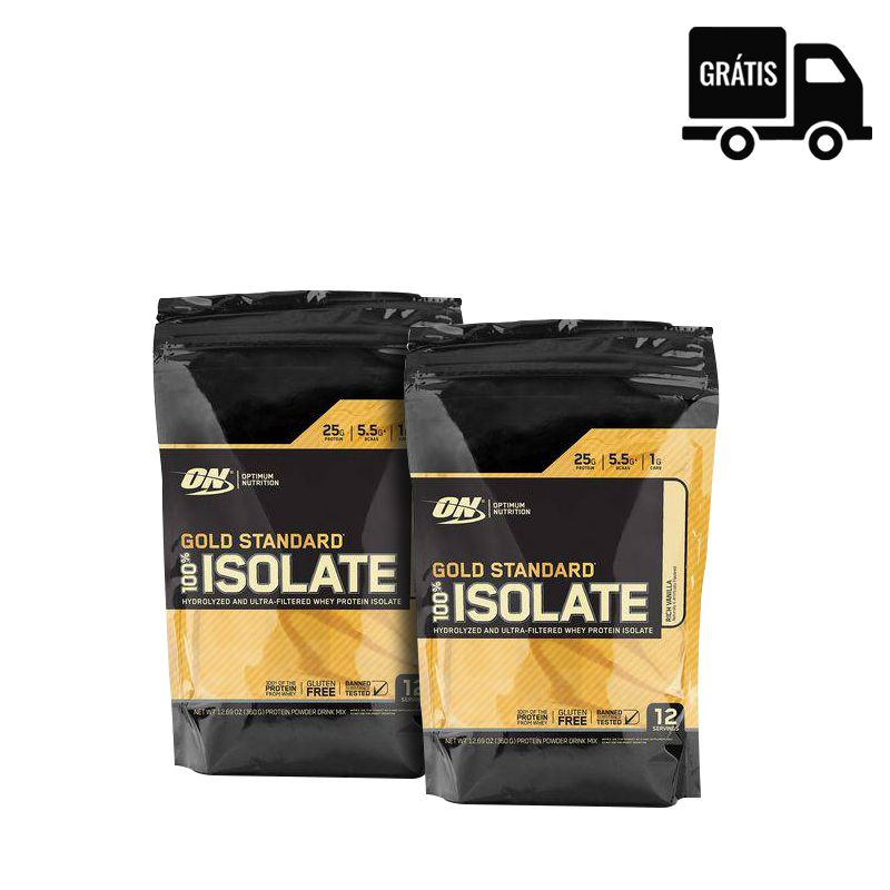 2x 100% Whey Gold Standard Isolate 358g (716g Total)
