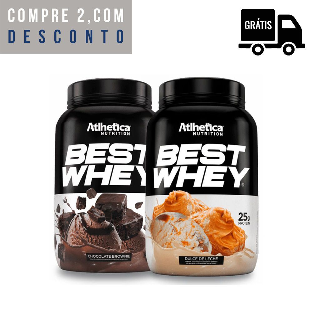 2x Best Whey 900g - Atlhetica Nutrition