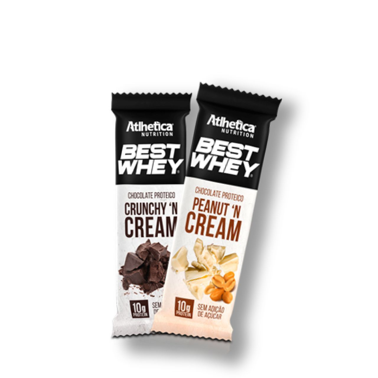 2x Best Whey Chocolate Proteico - Atlhetica Nutrition