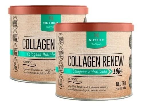 2x Colageno Hidrolisado Renew 300g - Nutrify