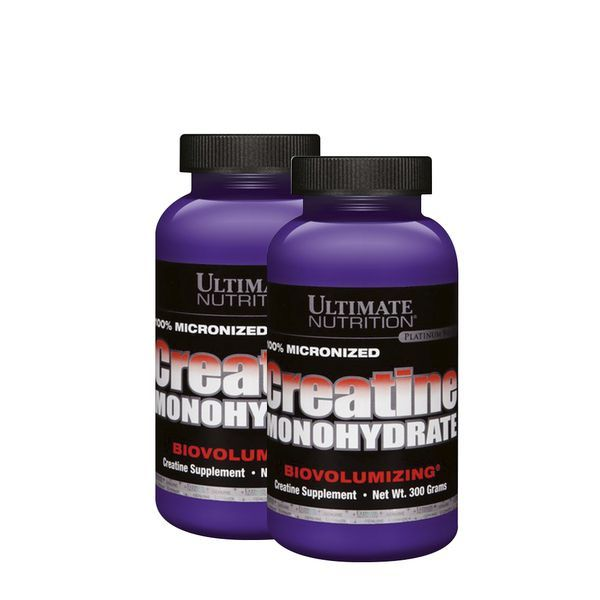 2x Creatine Monohydrate 300g