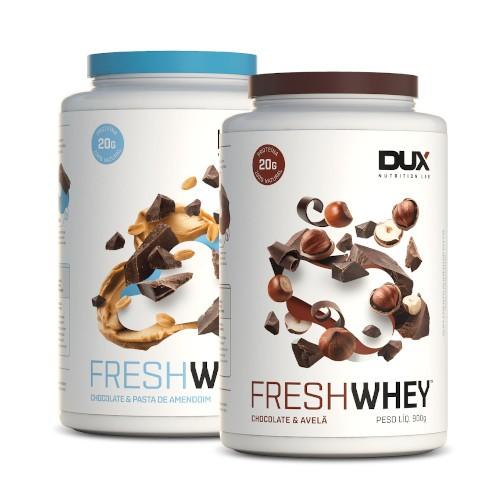 2x Fresh Whey 900g (Frete Grátis) - Dux Nutrition