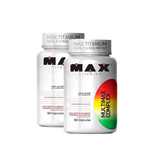 2x Multimax Complex 90 Caps. - Max Titanium