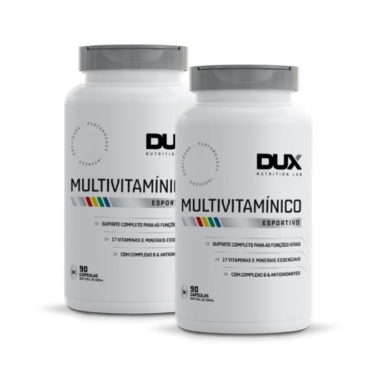 2x Multivitamínico 90 Caps - Dux Nutrition