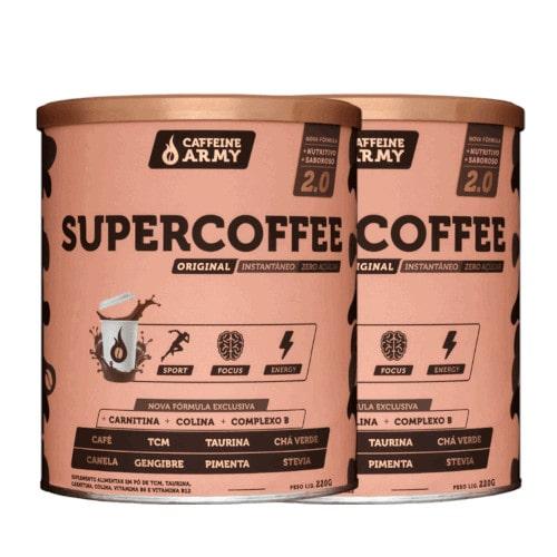 2x Supercoffee 2.0 Tradicional 220g - Caffeine Army