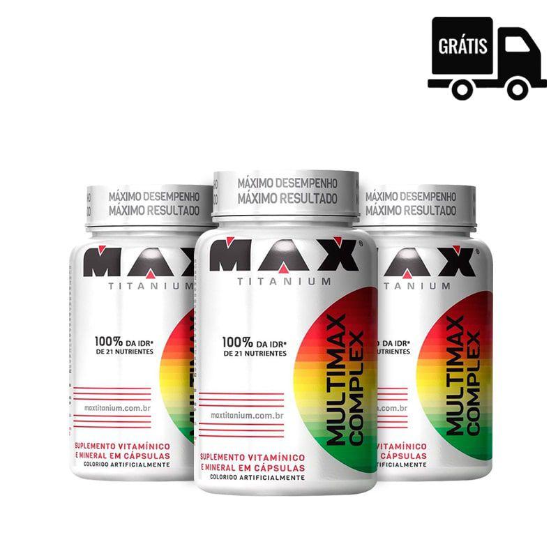 3x Multimax Complex 90 Caps. (270 total)