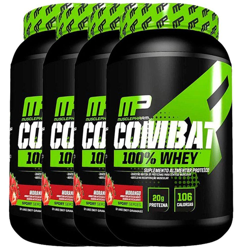 4x Combat 100% Whey 907g - Muscle Pharm