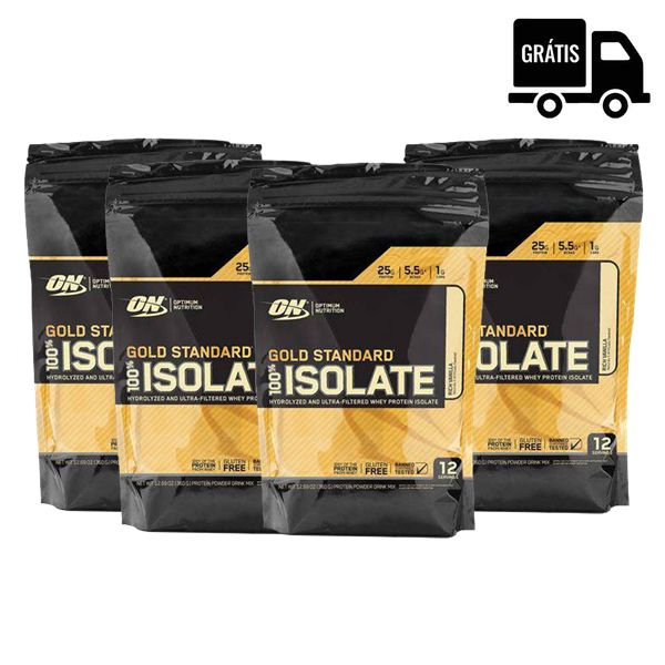 4x Whey Gold Standard Isolate 358g (1,43Kg)