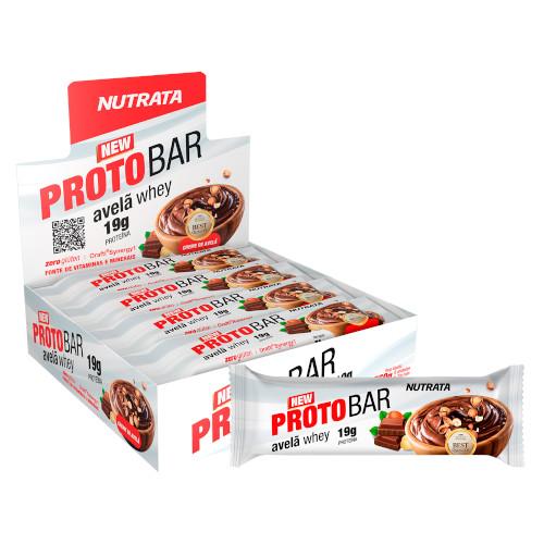 Barra de Proteina ProtoBar Caixa 8 Un - Nutrata