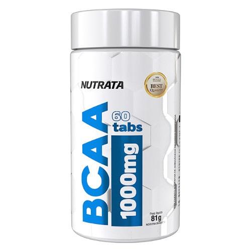 BCAA 1000mg 60 Tabs. - Nutrata