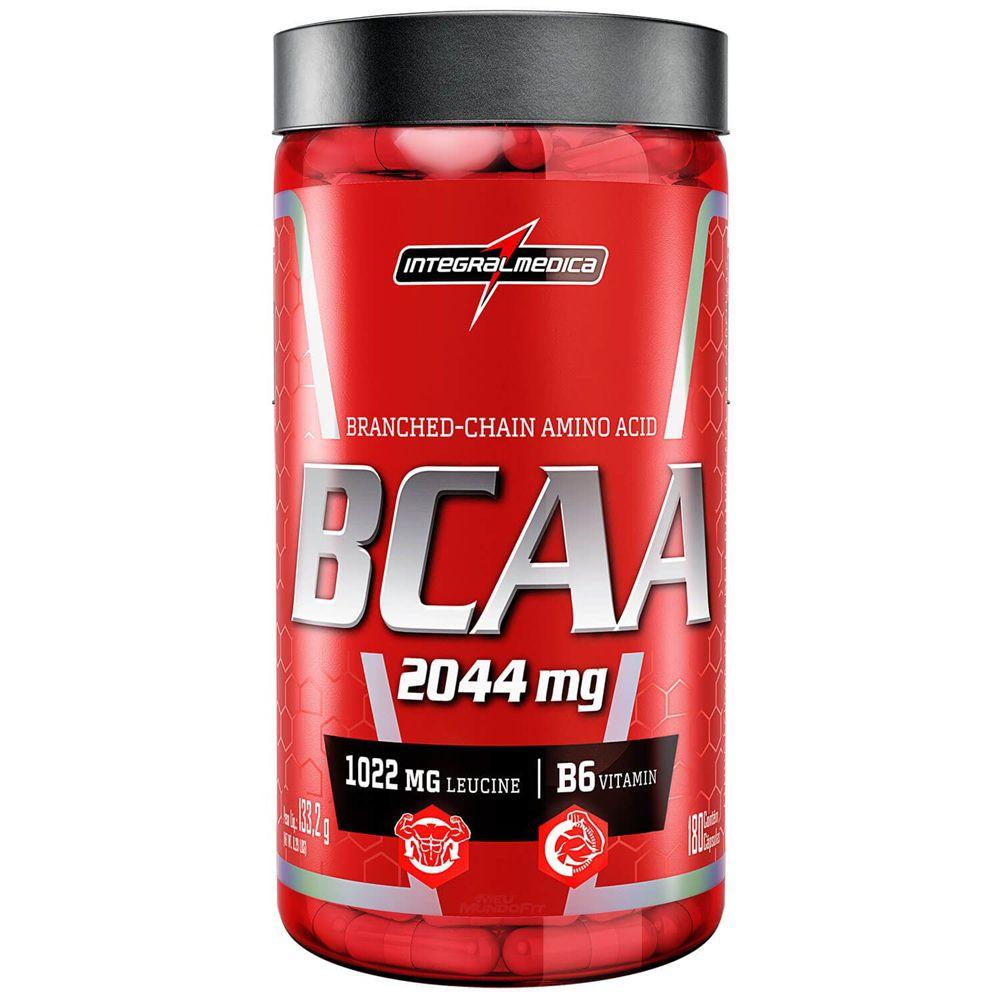 BCAA 2044mg 180 Caps. - IntegralMedica