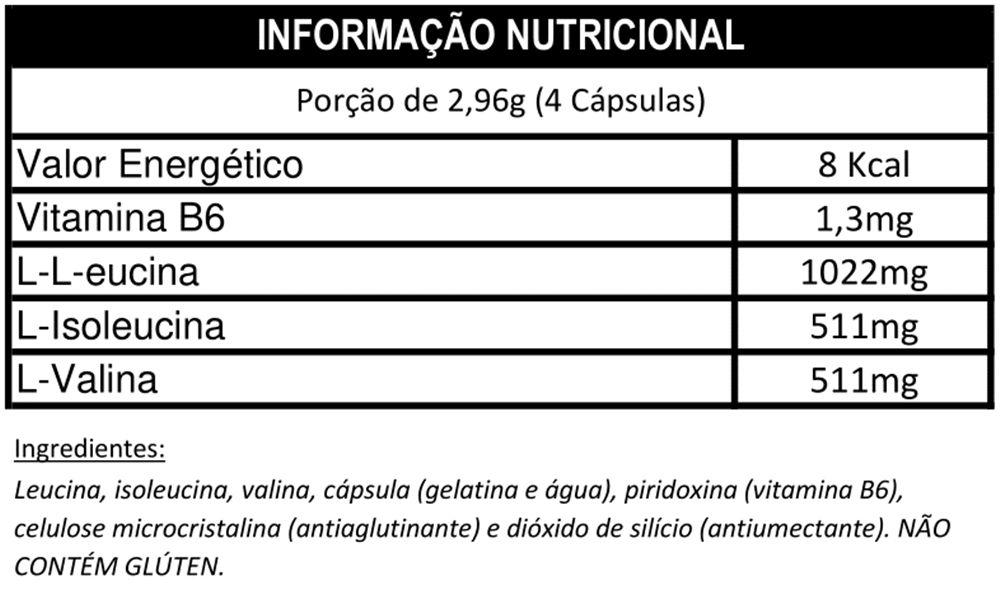 BCAA 2044mg 90 Caps. - IntegralMedica