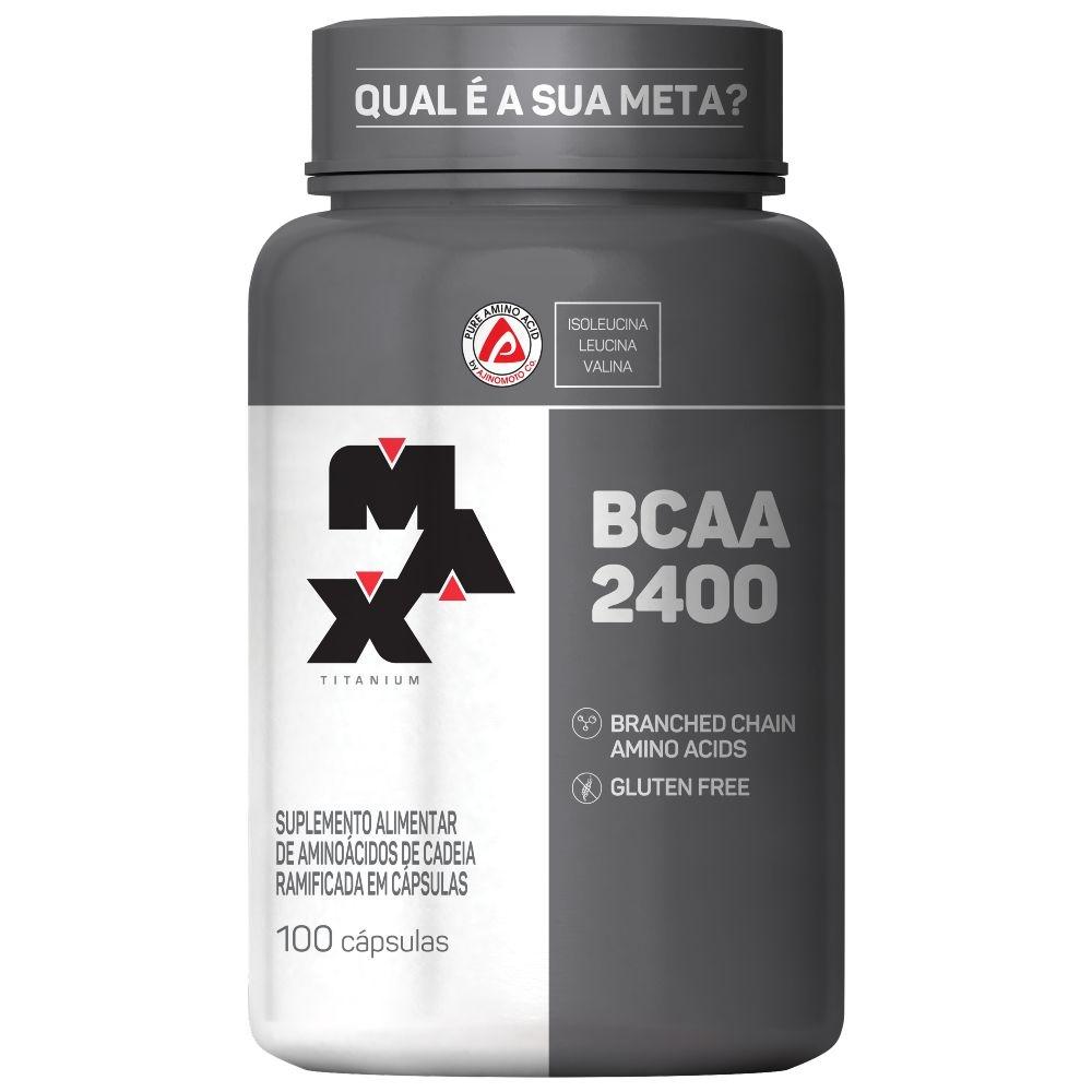 BCAA 2400 100 Caps. - Max Titanium