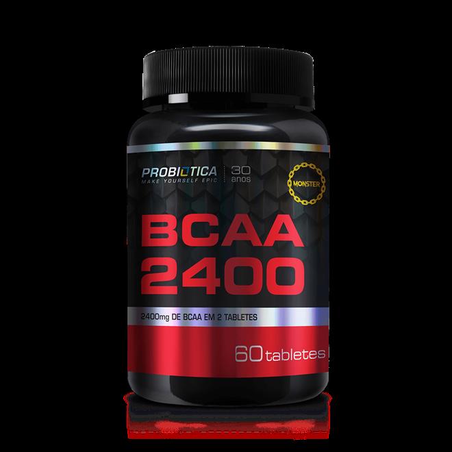 BCAA 2400 60 Tabs. - Probiotica