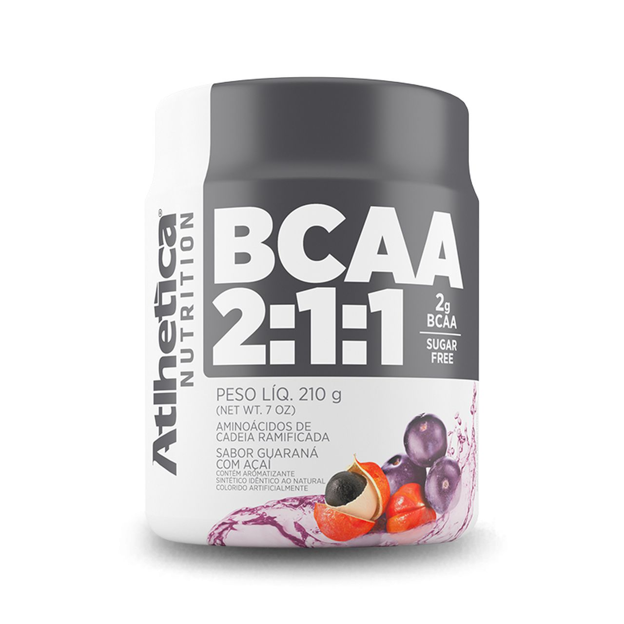 BCAA 2:1:1 210g - Athletica Nutrition