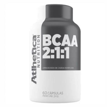 BCAA 2:1:1 60 Caps. - Atlhetica Nutrition