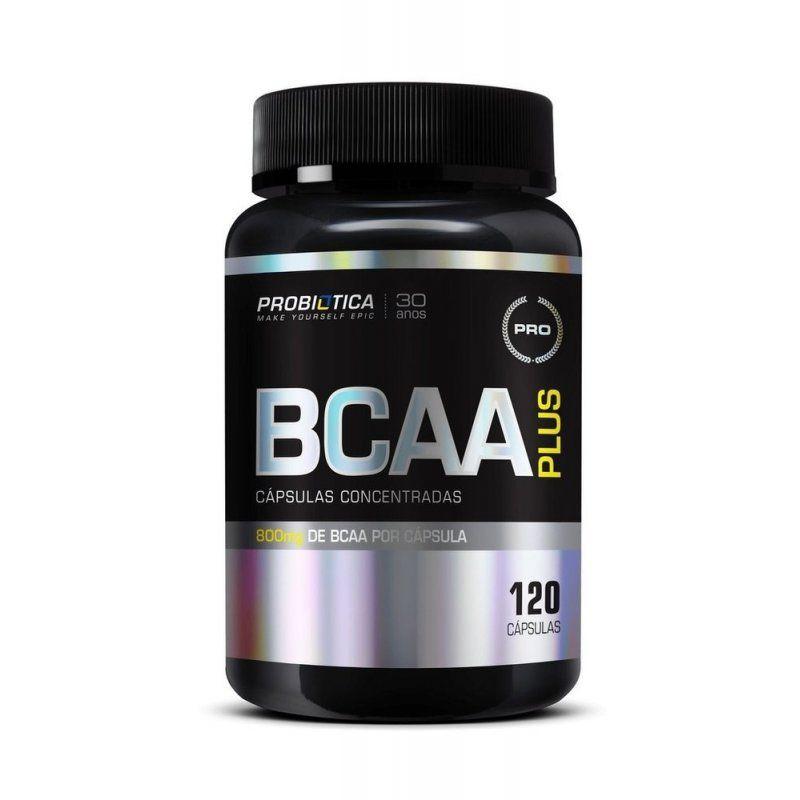 BCAA Plus 800mg 120 Caps. - Probiótica