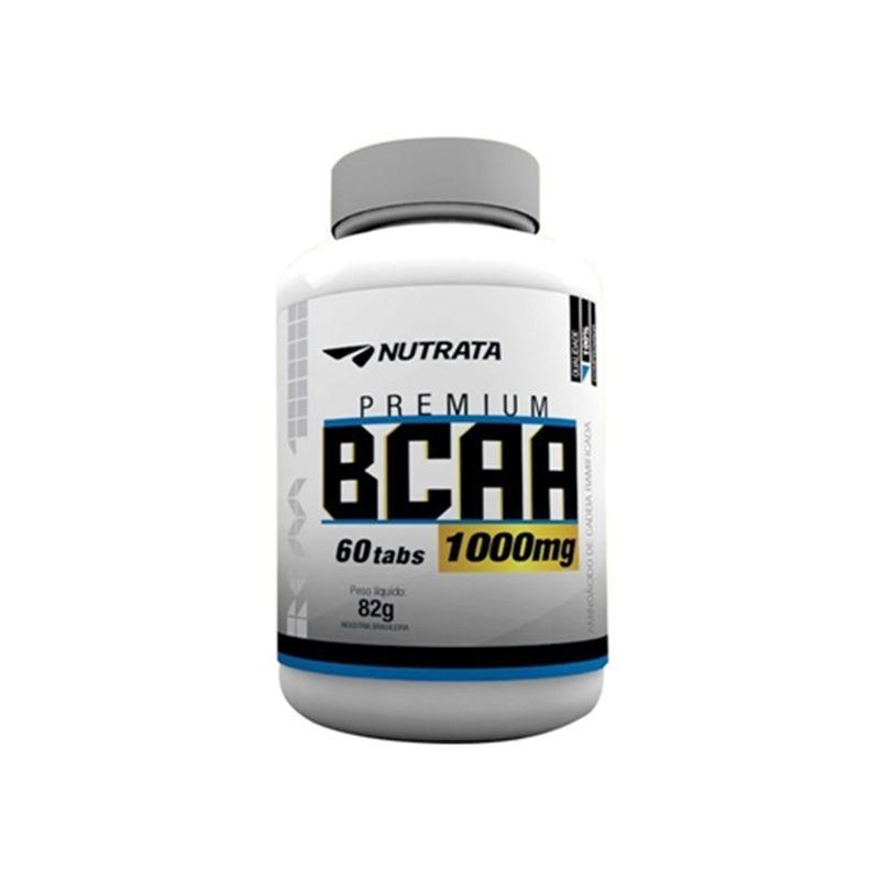BCAA Premium 1000mg 60 Tabs. - Nutrata