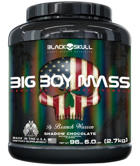 Big Boy Mass 2,7Kg - Black Skull