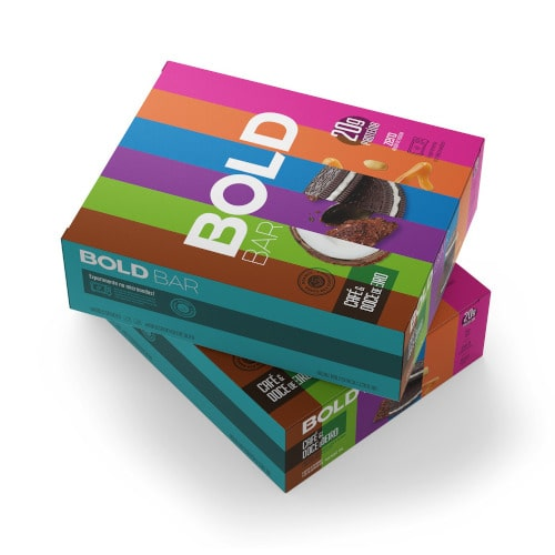 Bold Bar 12 Un - Bold Snacks