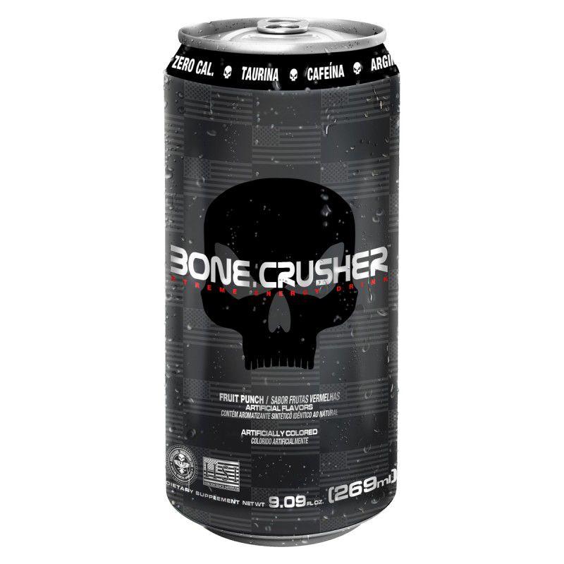 Bone Crusher Xtreme Energy 269ml - Black Skull