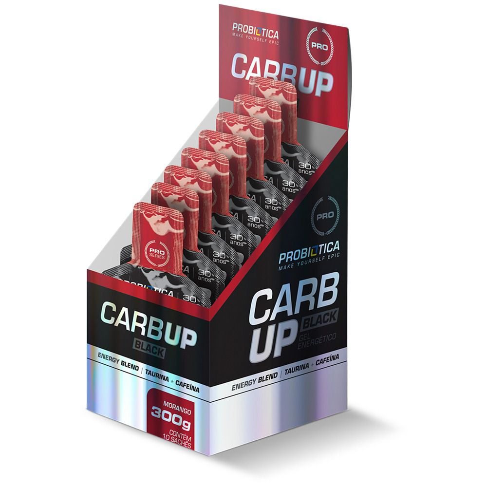 CarbUp Gel Black Repositor 10 Uni. - PROBIÓTICA