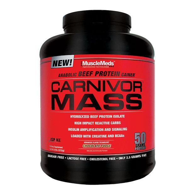 Carnivor Mass 5,95lbs (2.69 Kg) - Musclemeds