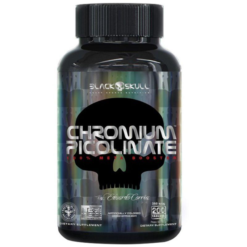 Chromium Picolinate 200 Tabs. - Black Skull