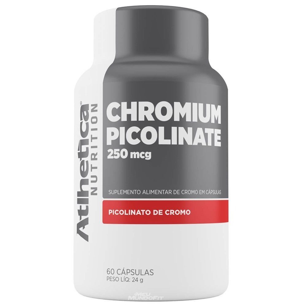 Chromium Picolinate 60 Caps. - Atlhetica Nutrition