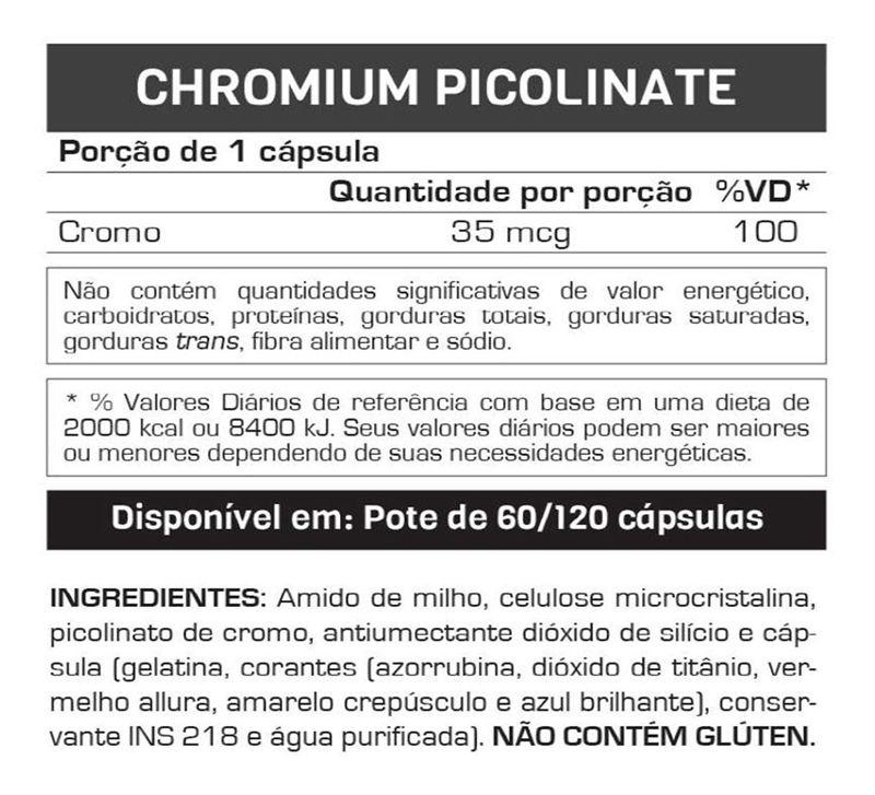 Chromium Picolinate 60 Caps. - Max Titanium