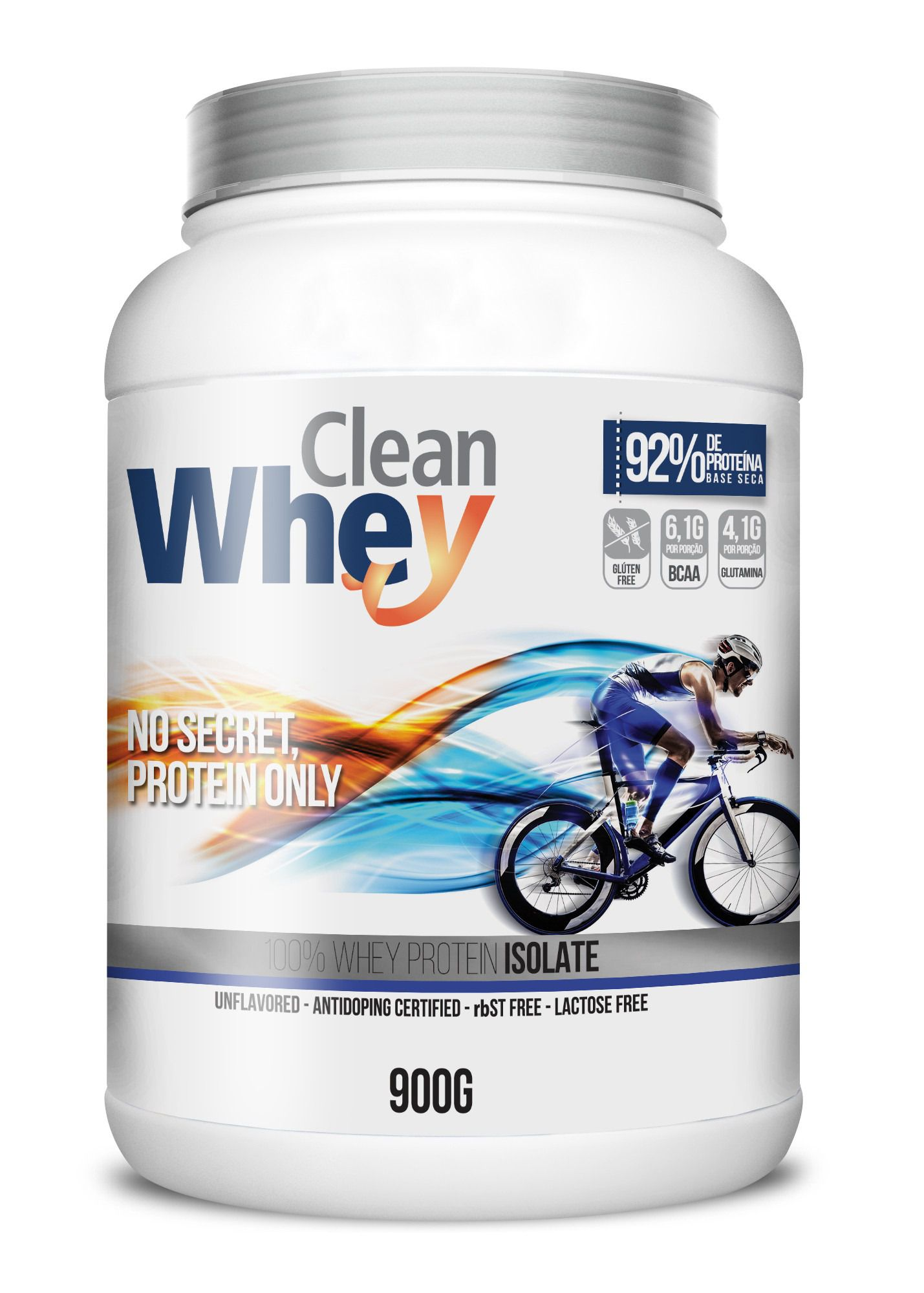 Clean Whey Isolate Sporting 900g - Glanbia