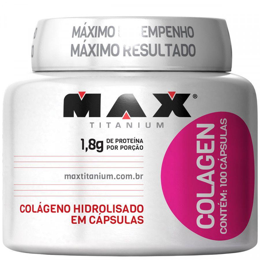 Colagen 100 Caps. - Max Titanium