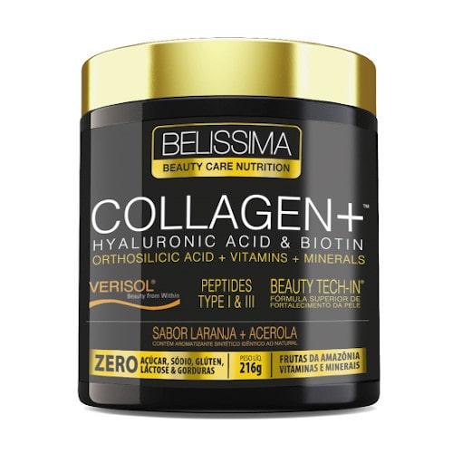 Collagen + (Ácido Hialurônico + Biotina) 216g - Belissima