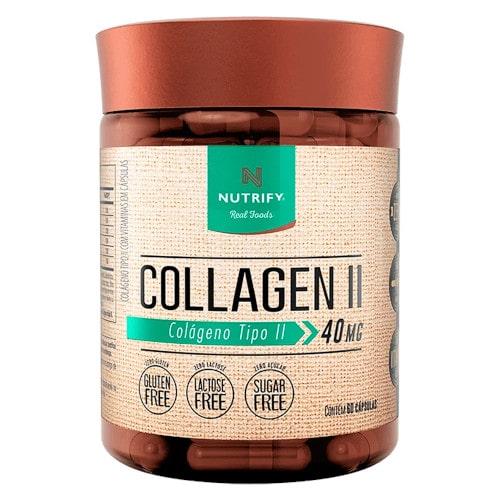Collagen II 40mg 60 Caps - Nutrify