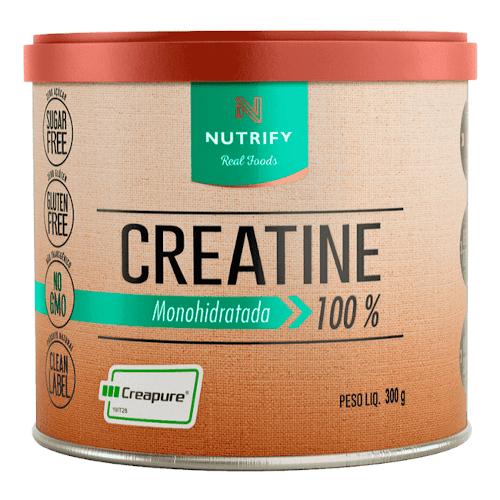 Creatina 100% Monohidratada Creapure 300g - Nutrify