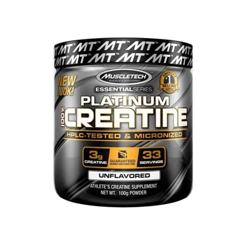 Creatine Platinum 100g - Muscletech