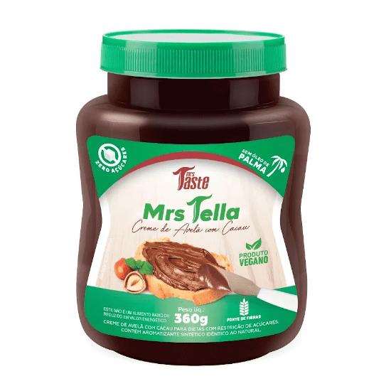 Creme de Avelã Mrs Tella 360g - Mrs Taste