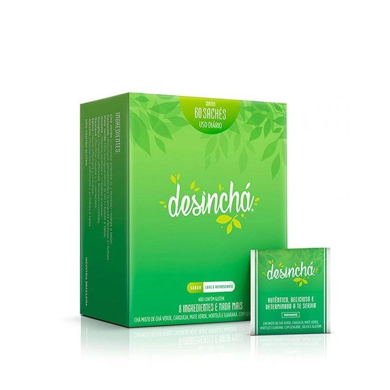 Desinchá Caixa c/ 60 Sachês - Desinchá