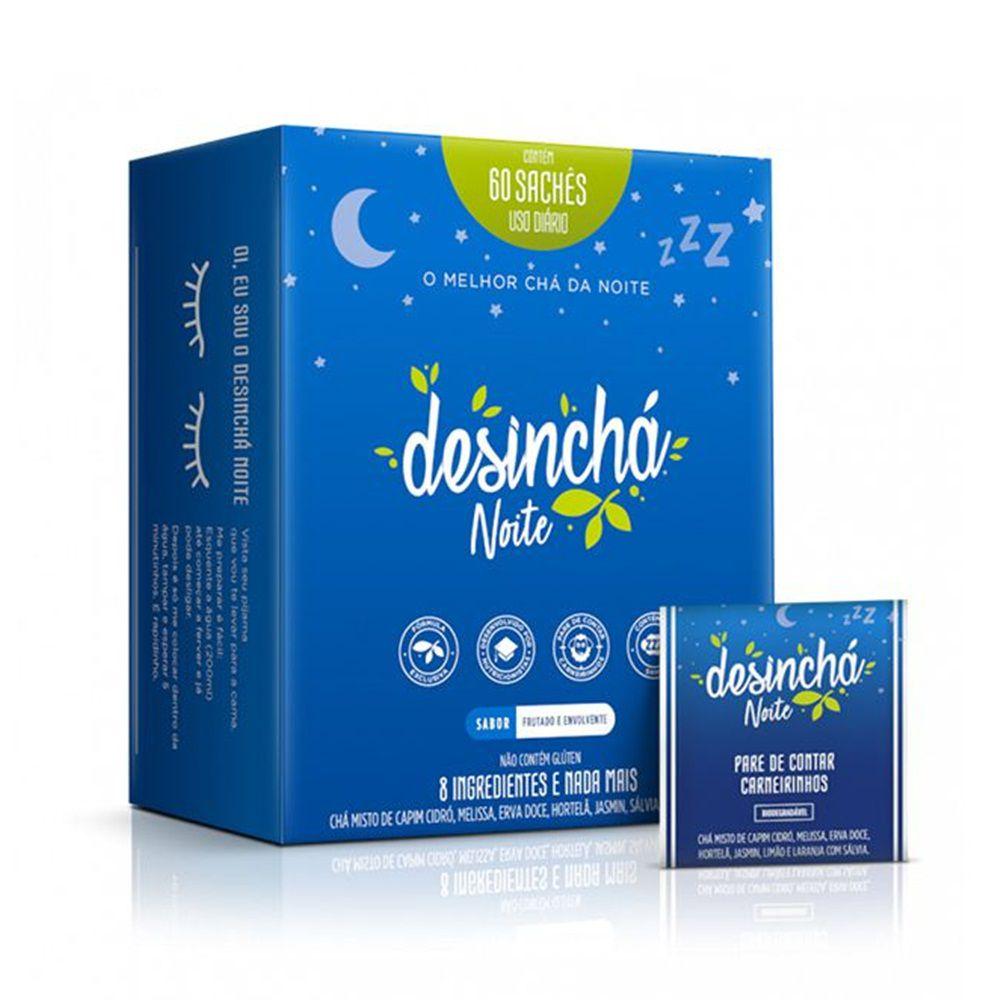 Desinchá Noite 60 Sachês - Desinchá