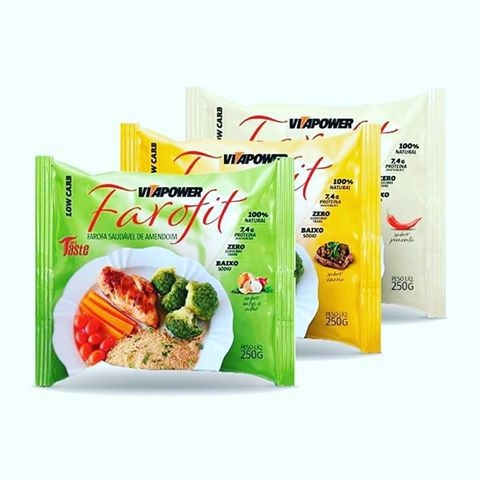 Farofa Fit 250g - Vitapower