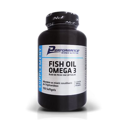 Fish Oil Omega 3 100 Caps. - Performance