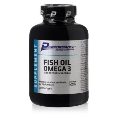 Fish Oil Omega 3 200 Caps. - Performance