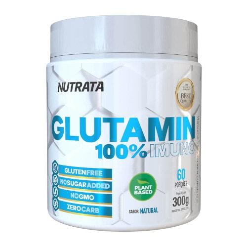 Glutamin 100% Imuno 300g - Nutrata