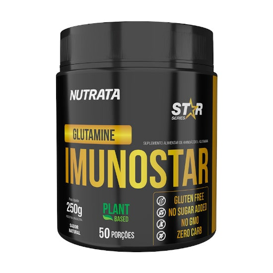 Glutamina Imunostar 250g - Nutrata